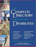 The Complete Directory for People with Disabilities, , 1592370071