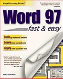 Word 97 Fast and Easy, Stevenson, Nancy, 0761510079