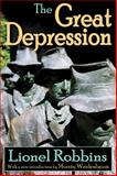 The Great Depression, Robbins, Lionel, 1412810086