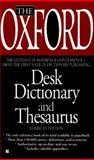 The Oxford Desk Dictionary and Thesaurus, Oxford University Press Staff, 0425160084