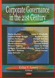 Corporate Governance in the 21st Century, , 1604560088