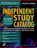 Independent Study Catalog, Peterson's Guides Staff, 0768900085