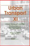 Urban Transport XI 9781845640088