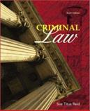 Criminal Law, Reid, Sue Titus, 007282008X