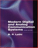 Modern Digital and Analog Communication Systems, Lathi, Bhagwandas P., 0195110099