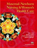 Maternal-Newborn Nursing and Women's Health Care, Olds, Sally B. and Davidson, Michele, 0130990094