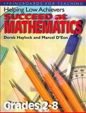 Helping Low Achievers Succeed at Mathematics, Haylock, Derek W. and D'Eon, Marcel, 1552440109