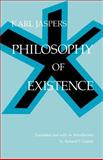 Philosophy of Existence, Jaspers, Karl, 0812210107