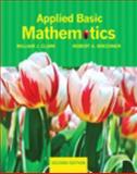 Applied Basic Mathematics, Clark, William J. and Brechner, Robert A., 0321760107