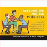 Restorative Justice Pocketbook, Vinegrad, David, 190661010X