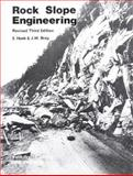 Rock Slope Engineering : Published for the Institution of Mining and Metallurgy, Hoek, Evert and Bray, J. W., 0419160108