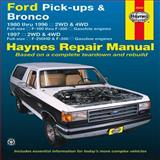 Ford Pick-Ups and Bronco, Editors of Haynes Manuals, 1620920107