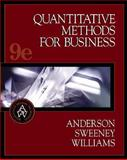 Quantitative Methods for Business with EasyQuant Tutor for Excel 9780324320114