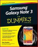 Samsung Galaxy Note 3 for Dummies, Gookin, Dan, 1118920112
