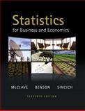 Statistics for Business and Economics, McClave, James T. and Benson, P. George, 032164011X