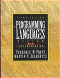 Programming Languages : Design and Implementation, Pratt, Terrence W. and Zelkowitz, Marvin V., 0136780121