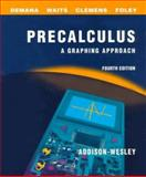 Precalculus : A Graphing Approach, 1997, Demana, Franklin D., 0201870126