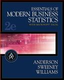 Essentials of Modern Business Statistics with Microsoft Excel, Anderson, David R. and Sweeney, Dennis J., 0324320124