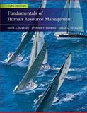 Fundamentals of Human Resource Management, DeCenzo, David A. and Robbins, Stephen P., 0470910127