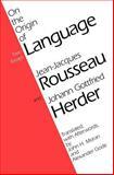 On the Origin of Language 9780226730127