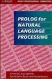 Prolog for Natural Language Processing, Saint-Dizier, Patrick and Gal, Annie, 0471930121