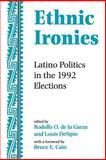 Ethnic Ironies, Rodolfo O. de la Garza, 0813330122