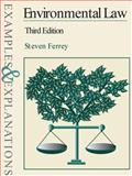 Environmental Law, Ferrey, Steven, 0735540136