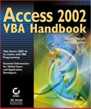 Access 2002 VBA Handbook, Susann Novalis and Dana Jones, 0782140130