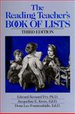 The Reading Teacher's Book of Lists, Edward B. Fry and Jacqueline E. Kress, 0137620144
