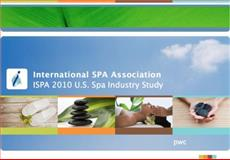 ISPA 2010 U. S. Spa Industry Study, International SPA Association, Price Waterhouse Coopers, 0982930143