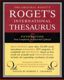 Roget International Thesaurus, Robert L. Chapman, 0062700146