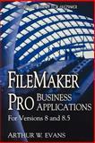Filemaker Pro Business Applications, Arthur Evans, 1598220144