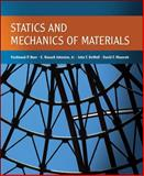 Statics and Mechanics of Materials, Beer, Ferdinand and Johnston, E. Russell, Jr., 0073380156