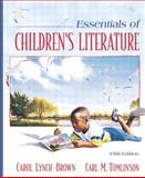 Essentials of Children's Literature, Lynch-Brown, Carol and Tomlinson, Carl M., 020542015X
