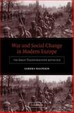 War and Social Change in Modern Europe 9780521540155