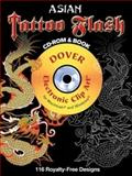Asian Tattoo Flash CD-ROM and Book, Alan Weller, 048699015X