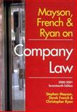 Mayson, French and Ryan on Company Law, 2000-2001, Mayson, Stephen and French, Derek, 1841740152