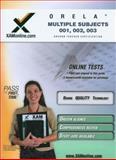 ORELA Multiple Subjects 001, 002, 003, Sharon A. Wynne, 1607870150