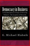 Democracy in Business, G. Blahnik, 1497530164