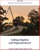 Functions Modeling Change 3rd Edition MA 15400 for Indiana University Purdue Fort Wayne, Connally, Eric and Hughes-Hallett, Deborah, 1118030168