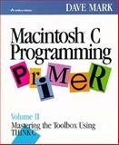 Macintosh C Programming Primer 9780201570168