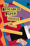 The Research Paper Handbook, James D. Lester and James D. Lester, 0673360164