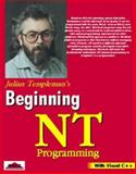 Windows NT Programming with VC++, Templeman, Julian, 1861000170