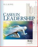 Cases in Leadership, Rowe, W. Glenn, 1412950171