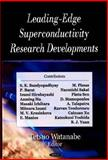 Leading-Edge Superconductivity Research Developments, Watanabe, Tetsuo, 1604560177