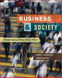 Business and Society : Stakeholders, Ethics, Public Policy, Lawrence, Anne T. and Weber, James, 0073530174