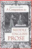 A Companion to Middle English Prose, , 1843840189