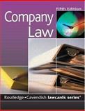 Company Lawcards, Cavendish Publishing Staff, 1845680189