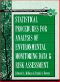 Statistical Procedures for Analysis of Environmental Monitoring Data and Risk Assessment, McBean, Edward A. and Rovers, Frank, 0136750184