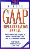 2000 Miller GAAP Implementation Manual, Williams, Jan R. and Carcello, Joseph V., 0156070189